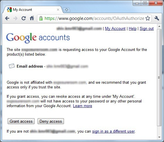 GoogleAccountLogin