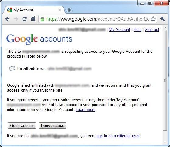 GoogleAccountLogin