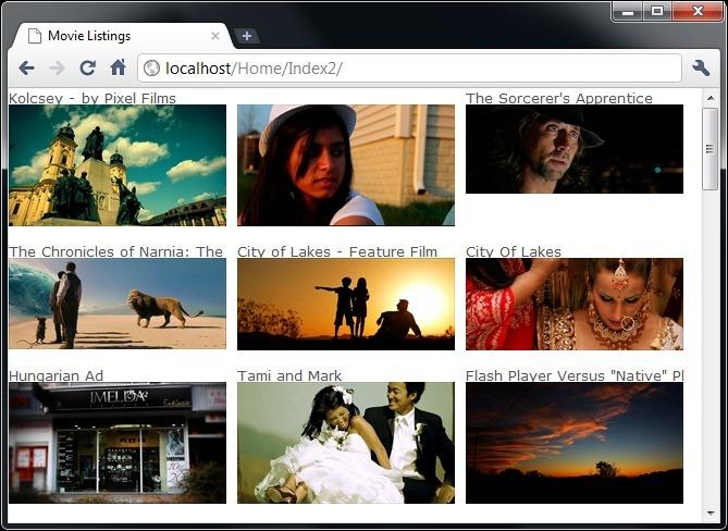MovieListingsScreenshot